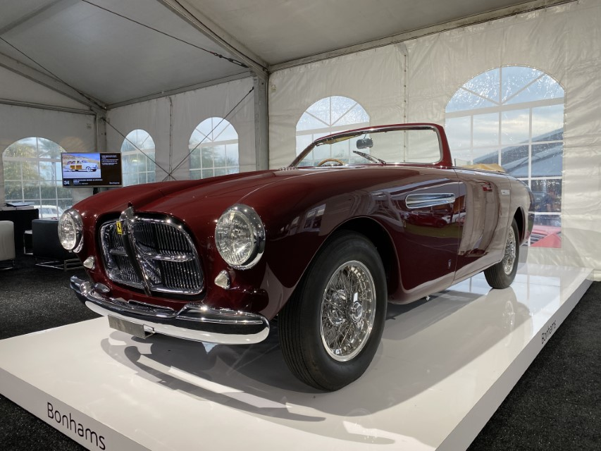 Bonhams Scottsdale 2020 Ferrari 212 Inter