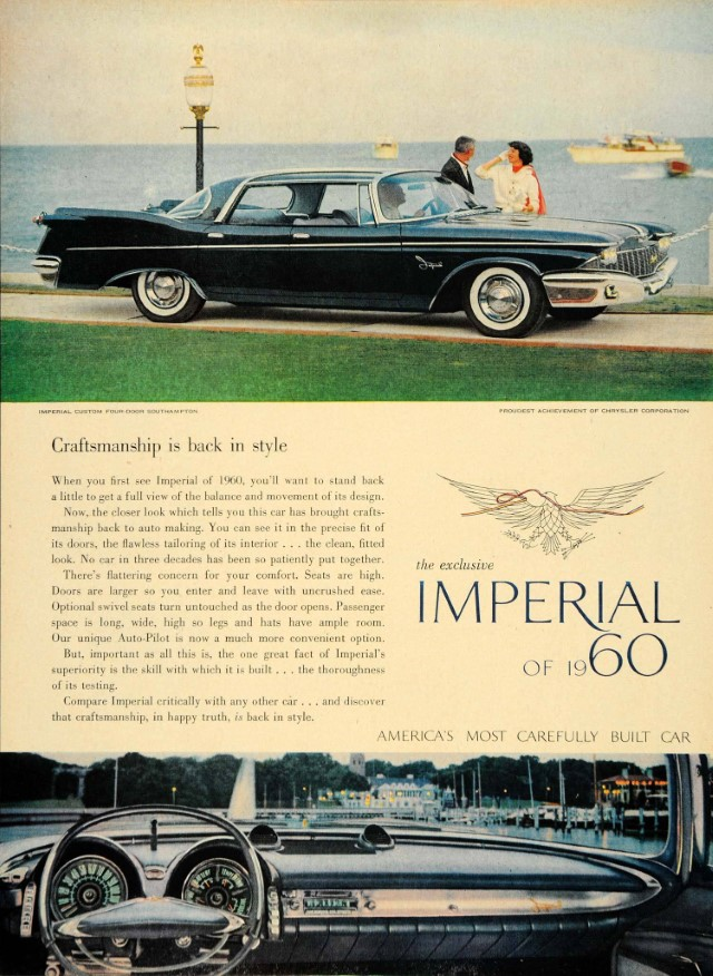 1960 Imperial Print Ad