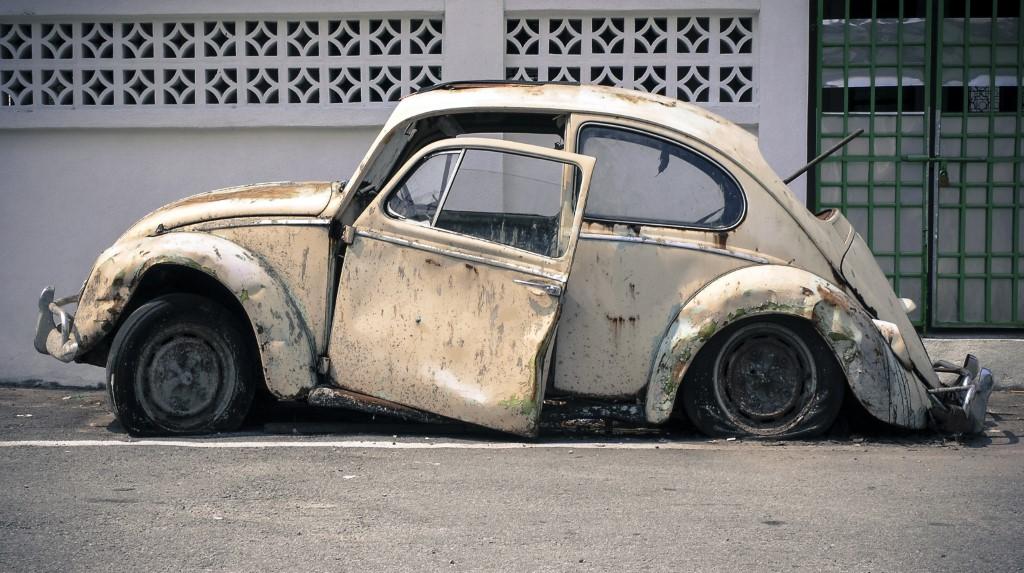 Volkswagen Beetle Abandoned