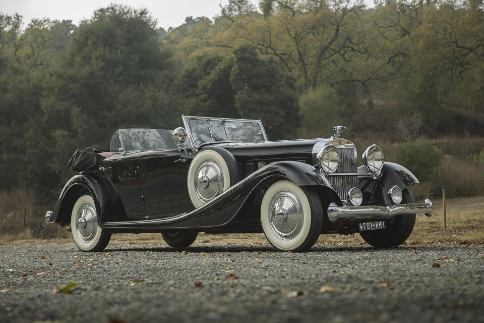 1932 Hispano Suiza J12 Dual Cowl Phaeton