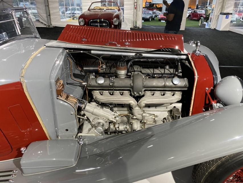 1932 Alfa Romeo 8C 2300 Cabriolet Décapotable