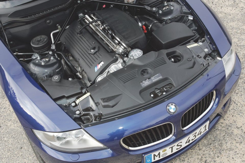 BMW E85 Z4 M Coupe S54