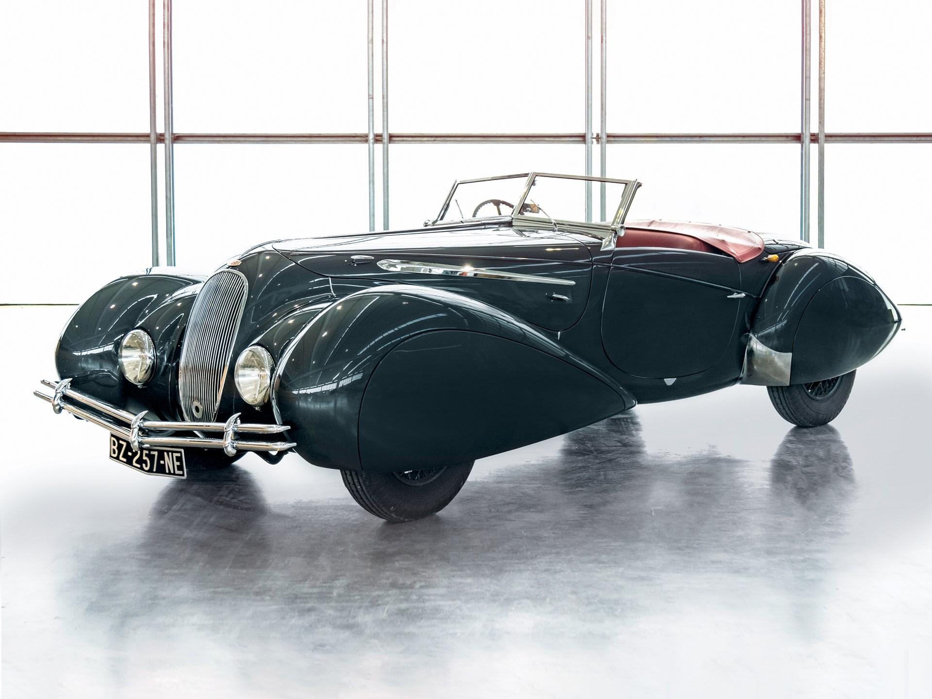1939 Delahaye 135 Roadster in the style of Figoni