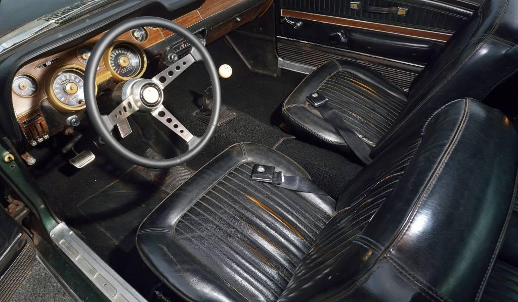Bullitt Mustang 1968 Mustang GT 390 Steve McQueen
