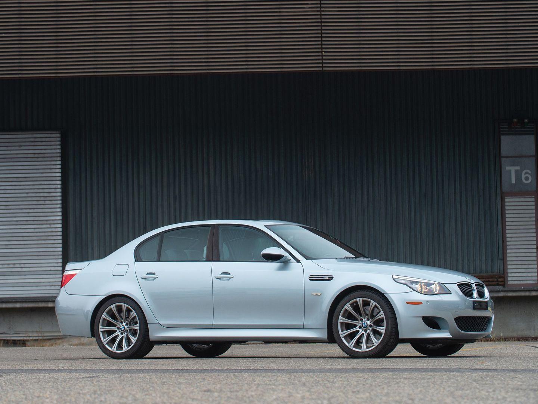 BMW M5 E60 Silverstone Metallic