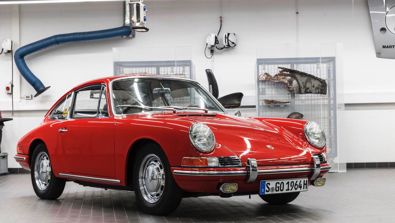 1963 Porsche 901 Barn Find