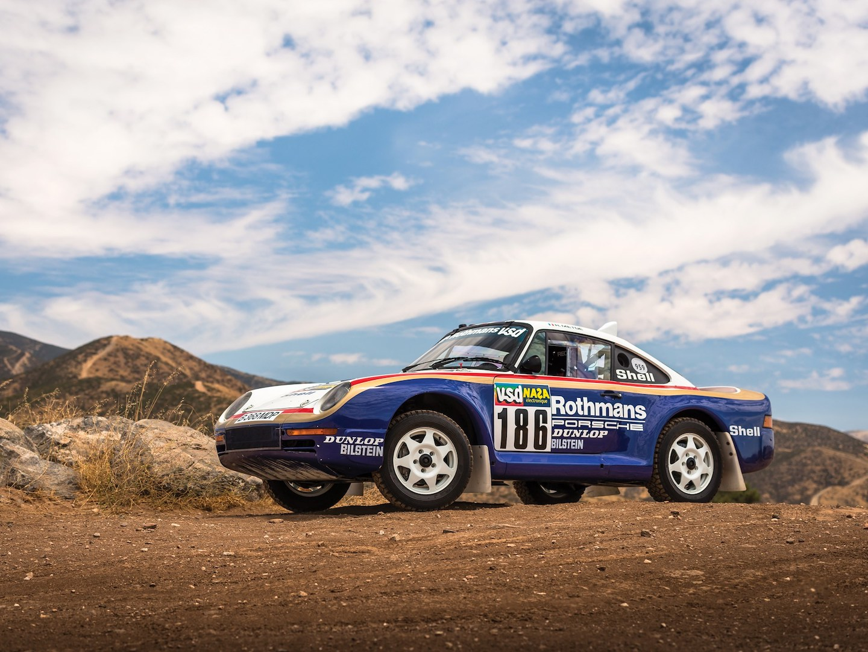 Porsche 959 Paris Dakar Rothmans