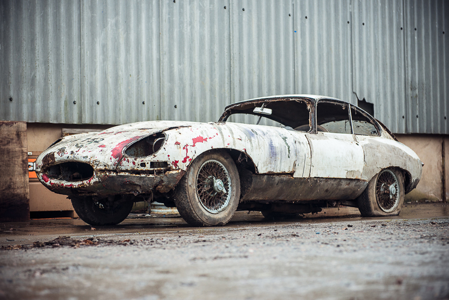 Jaguar E-Type Project
