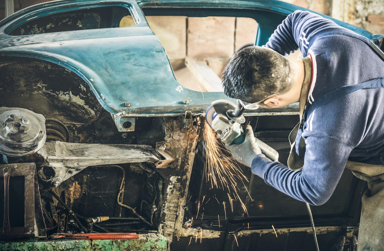 Car Restoration VW Beetle