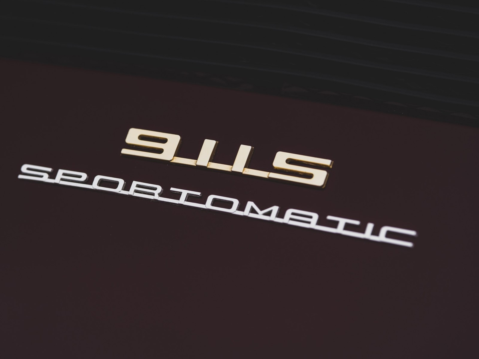 Porsche 911S Sportomatic