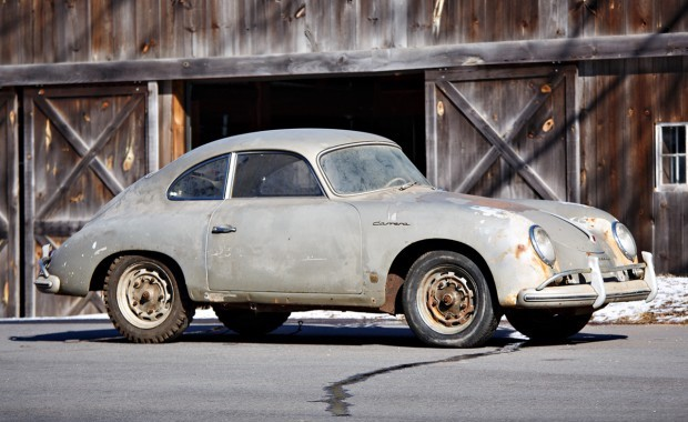 1957 Porsche 356 A 1500 GS Carrera Coupe Barn Find