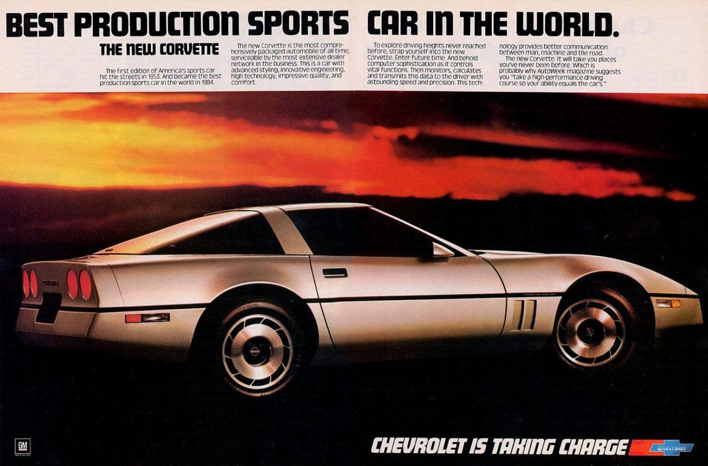 1984 Chevrolet Print Ad
