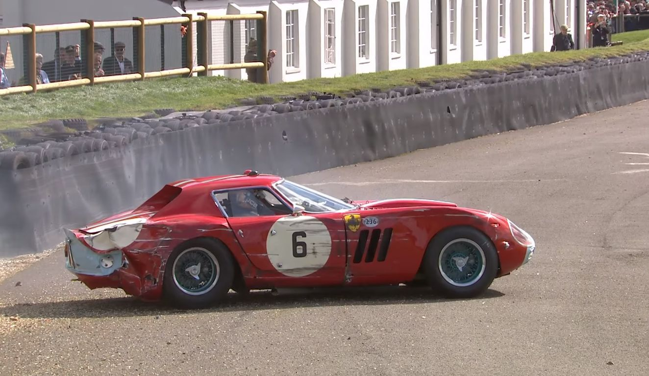 Ferrari 250 GTO Wreck Goodwood