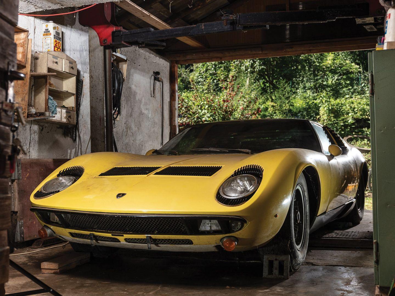 1969 Lamborghini Miura P400 S Barn Find