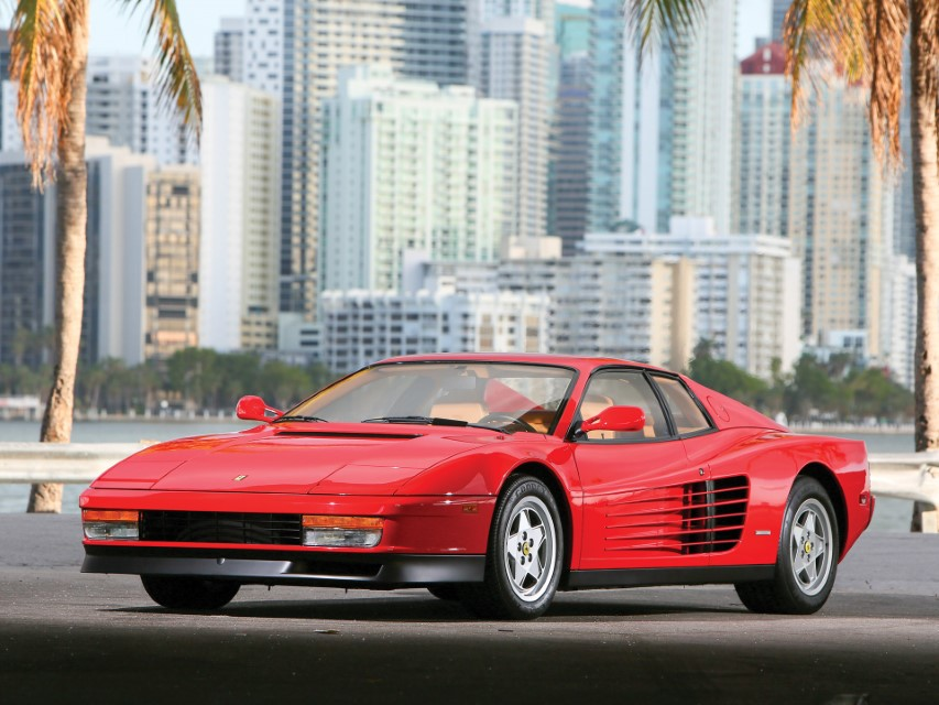 Ferrari Testarossa TR Miami Vice