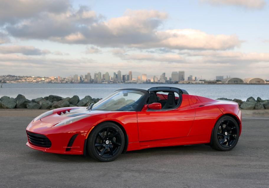 Tesla Roadster San Diego