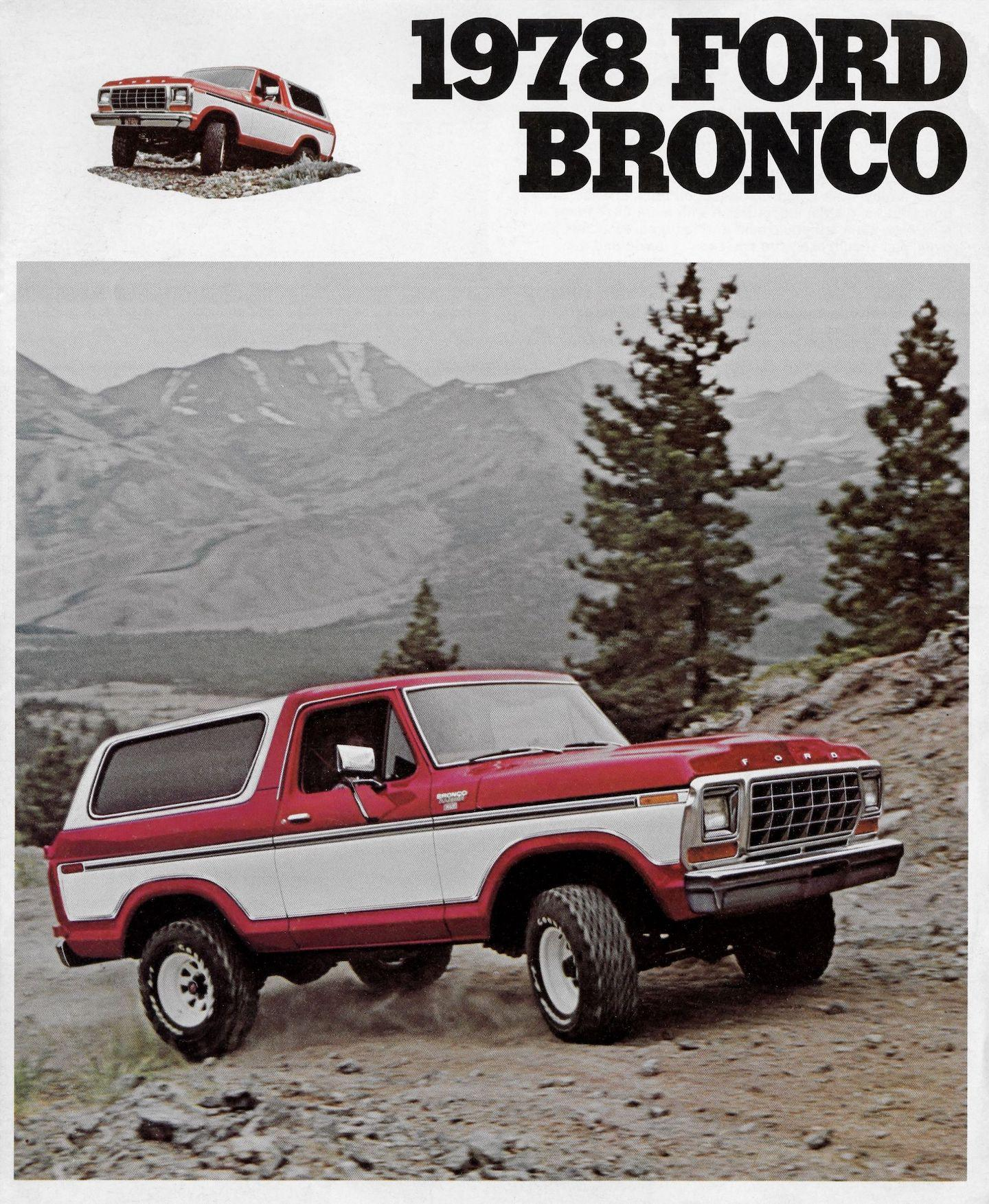 Ford Bronco, second-generation Ford Bronco, second-generation Bronco, Ford Bronco