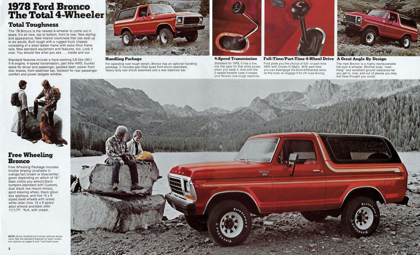 second-generation Ford Bronco, Ford Bronco, Bronco, second-generation Bronco