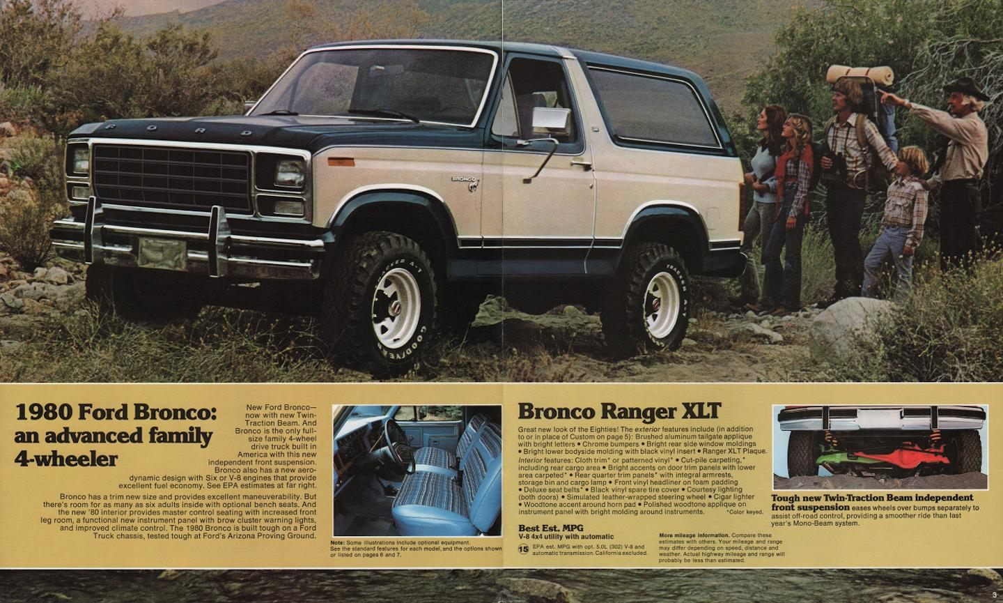third-generation Ford Bronco, Ford Bronco, Bronco, third-generation Bronco