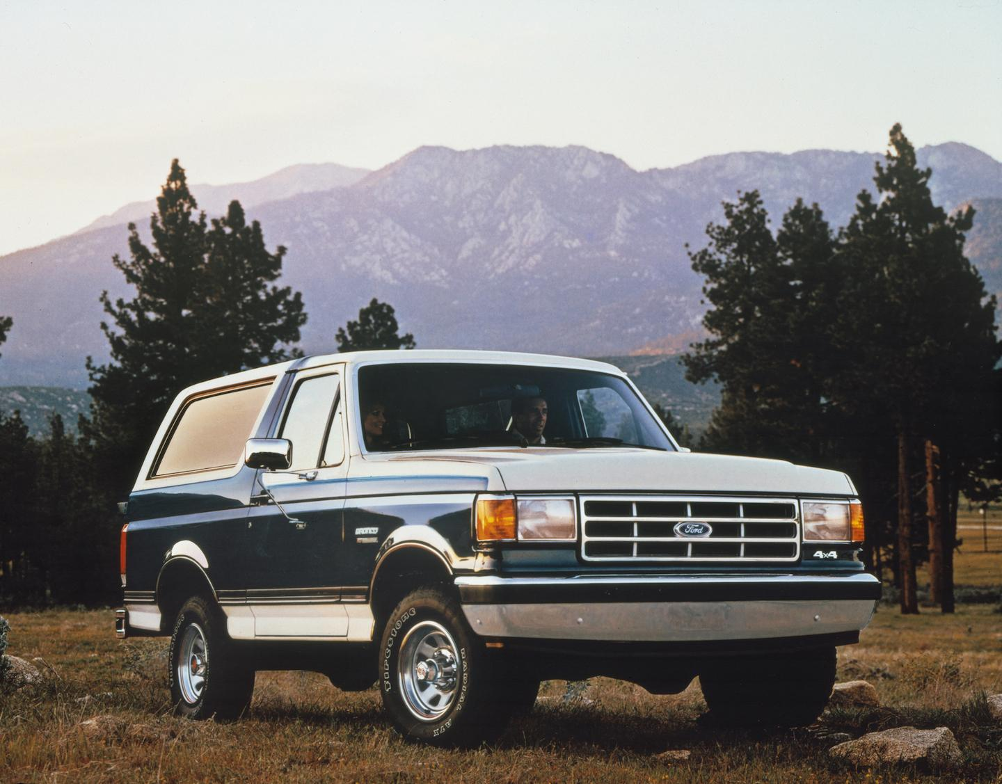 fourth-generation Ford Bronco, Ford Bronco, Bronco, fourth-generation Bronco