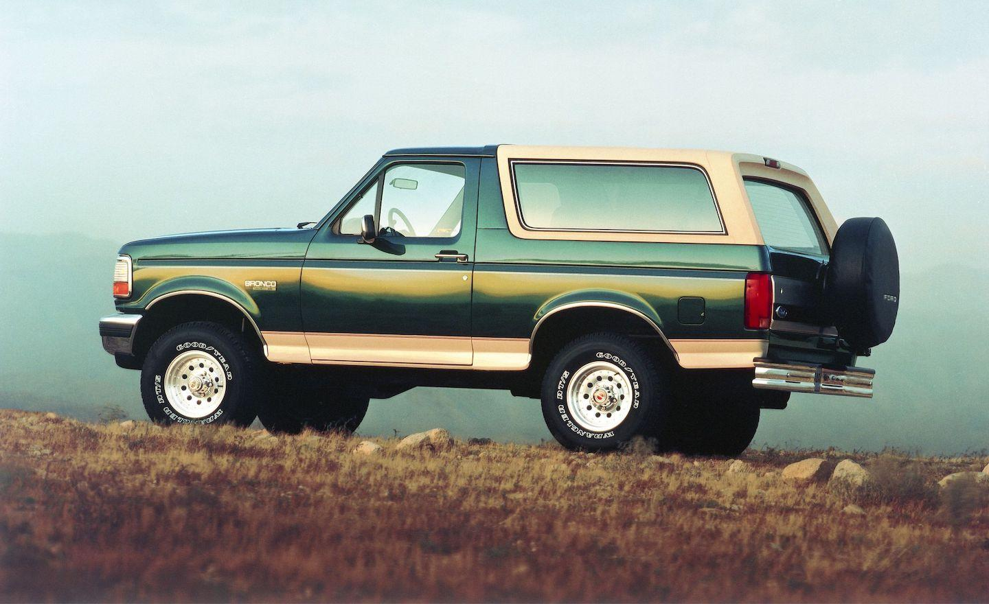 fifth-generation Ford Bronco, Ford Bronco, Bronco, fifth-generation Bronco