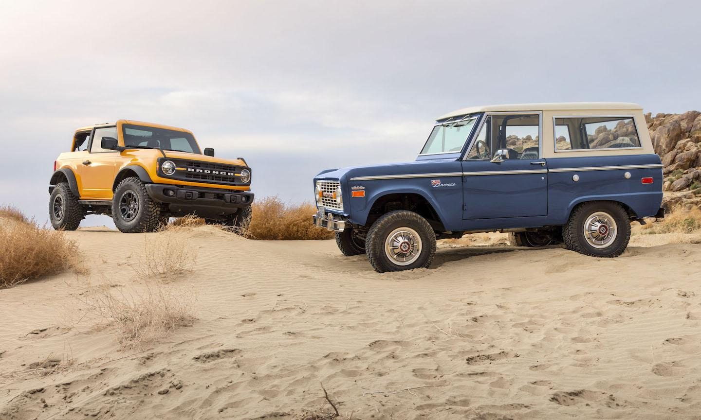 first-generation Ford Bronco, sixth-generation Ford Bronco, new Bronco, new Ford Bronco, Bronco, Bronco II