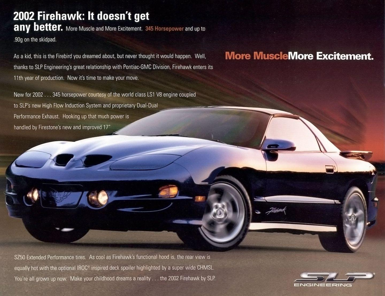 Fourth-Generation Pontiac Firebird, Firebird, Pontiac, Pontiac Firebird
