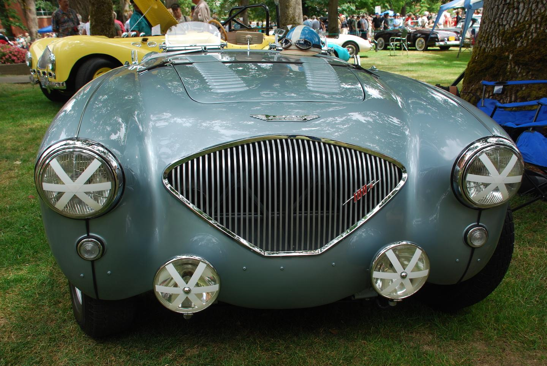1956 Austin-Healey BN2, in 100M trim