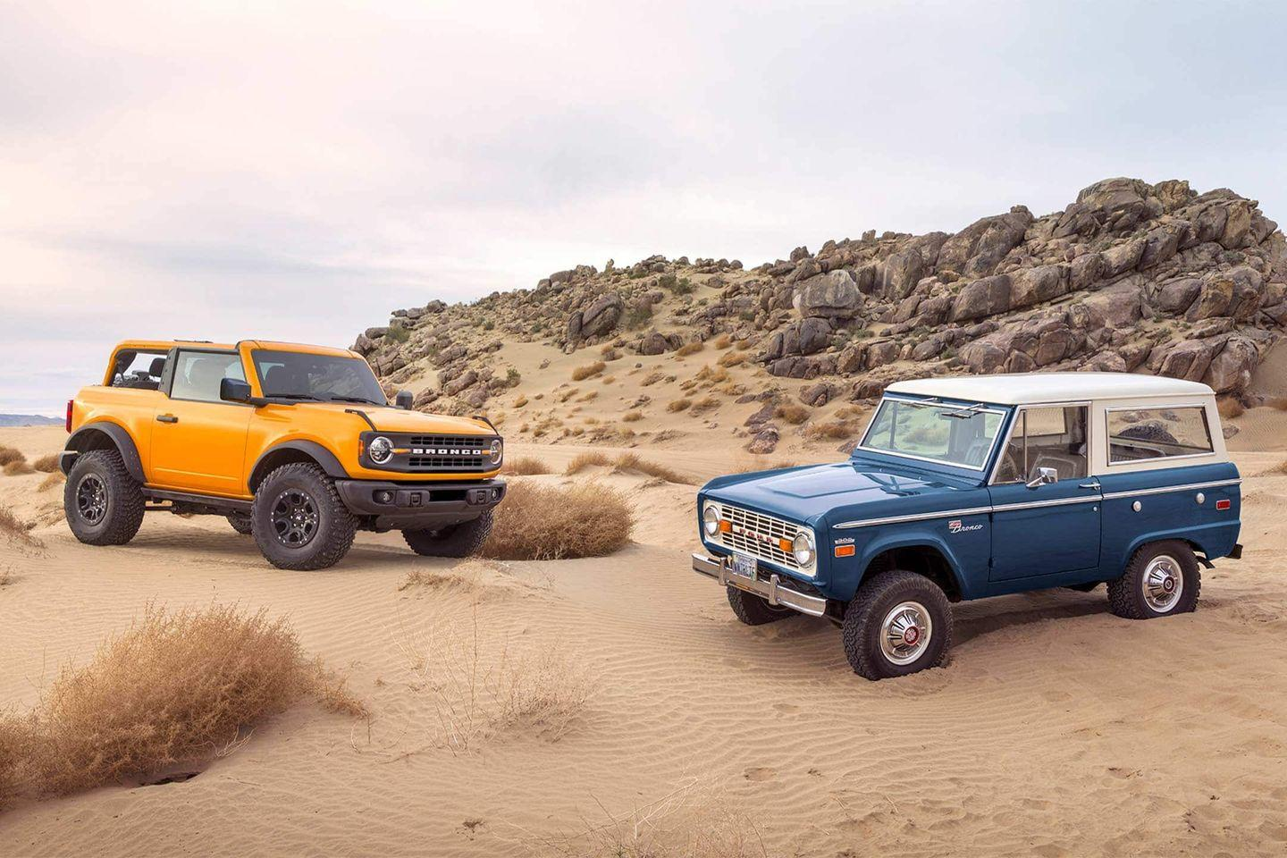 New 2021 Ford Bronco