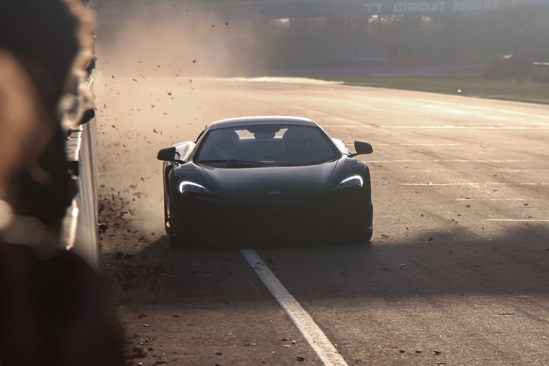 McLaren on track