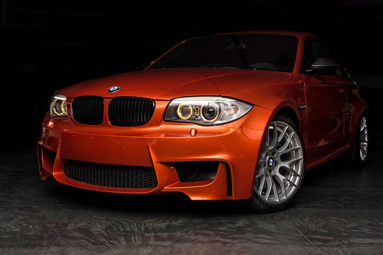 BMW 1 Series M Coupe 1M Valencia Orange