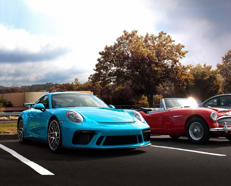 Porsche 991 GT3 Miami Blue