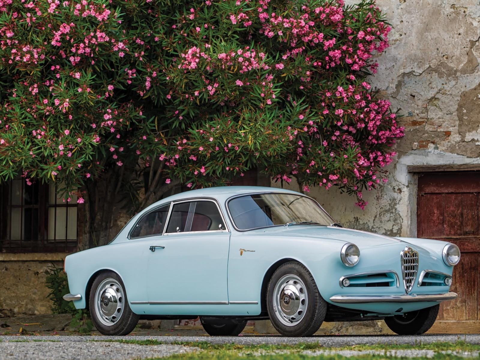 1957 Alfa Romeo Giulietta Sprint Veloce Alleggerita