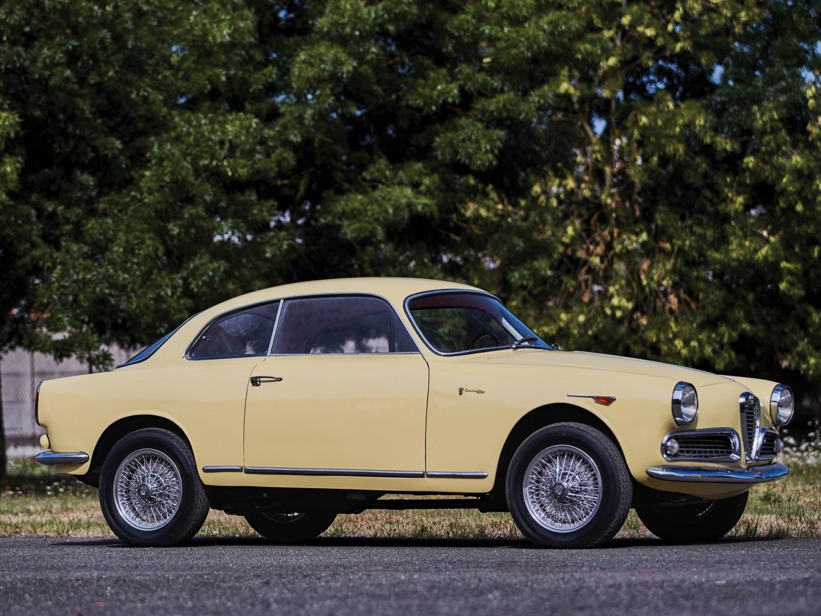 1961 Alfa Romeo Giulietta Sprint 1300
