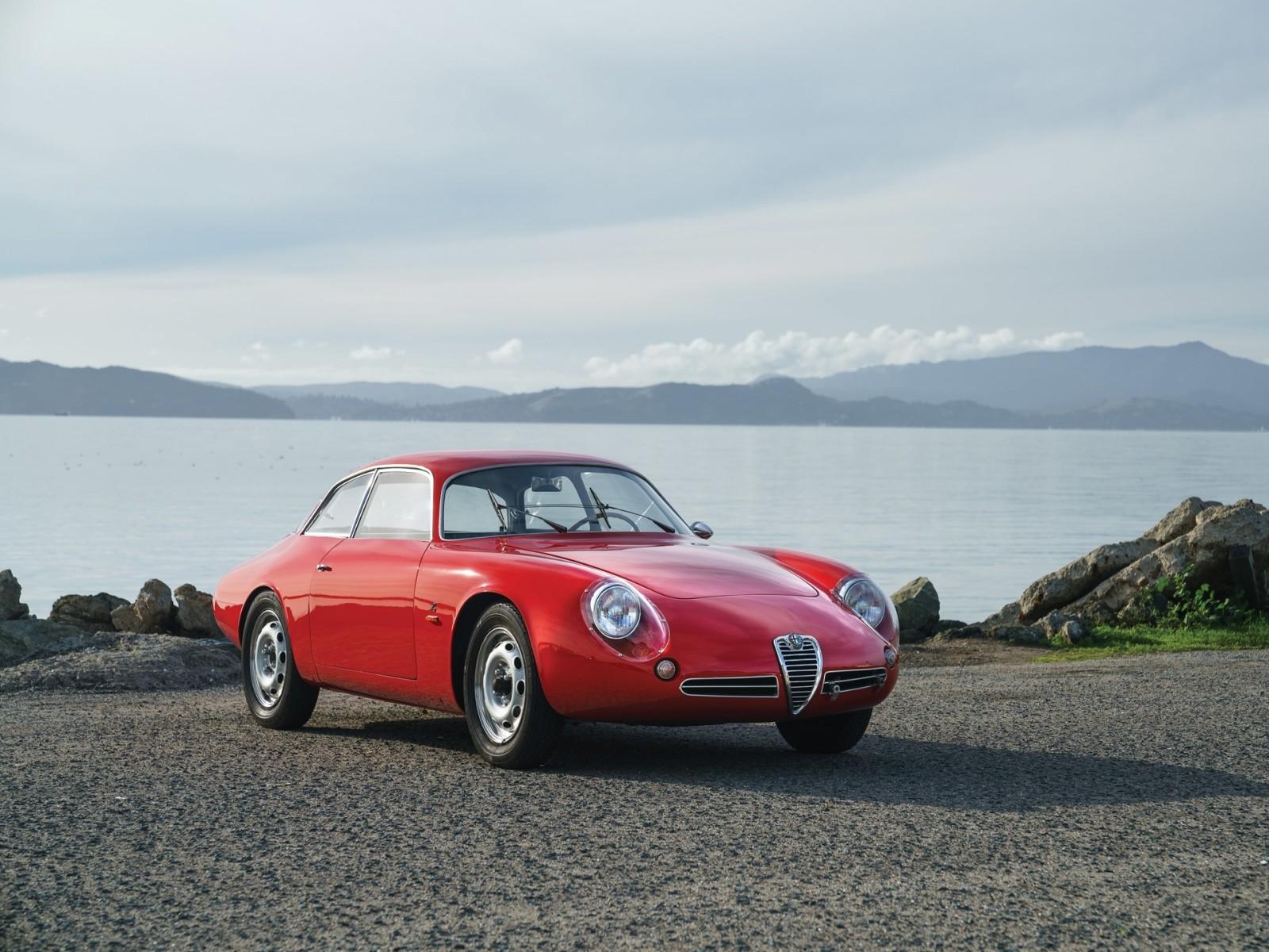 1962 Alfa Romeo Giulietta SZ II Coda Tronca