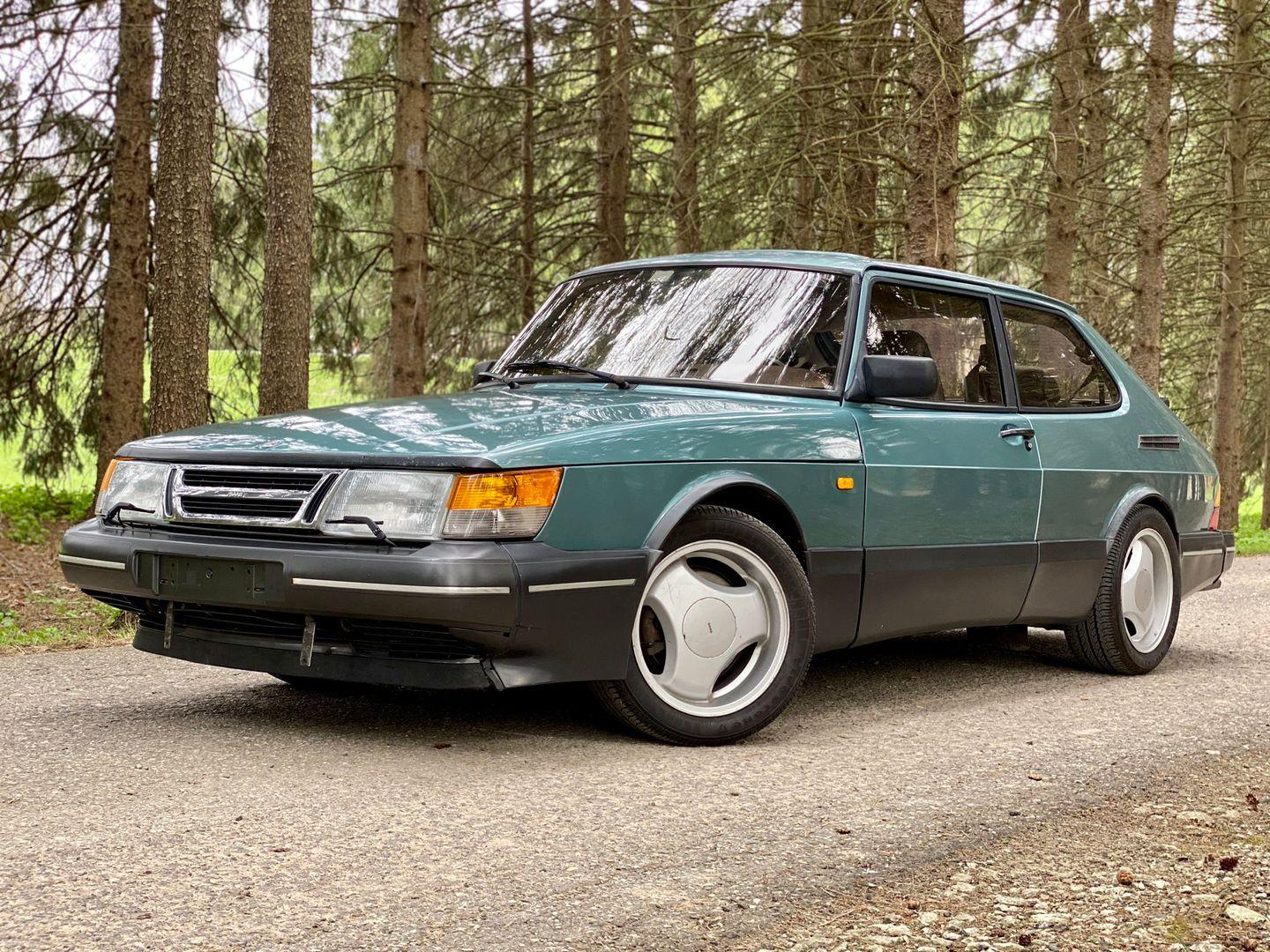 Saab 900 Turbo SPG Beryl Green