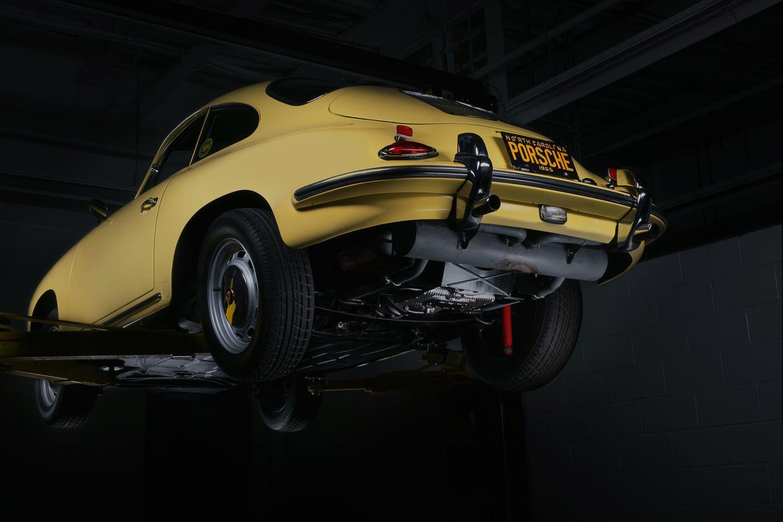 Porsche 356 lift