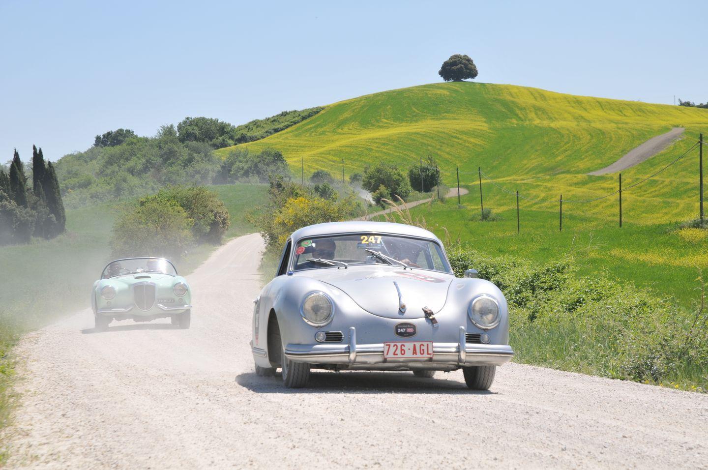 vintage rally Porsche 356