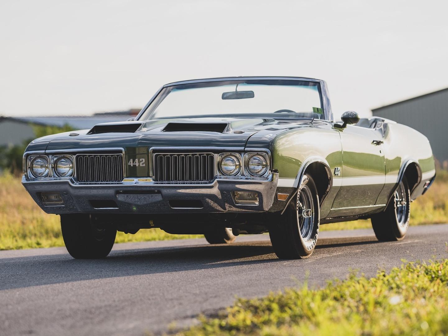 Oldsmobile 442 Sherwood Green