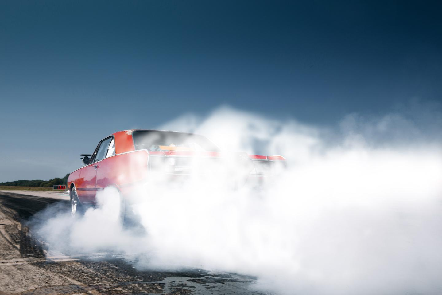 Muscle Car Burnout