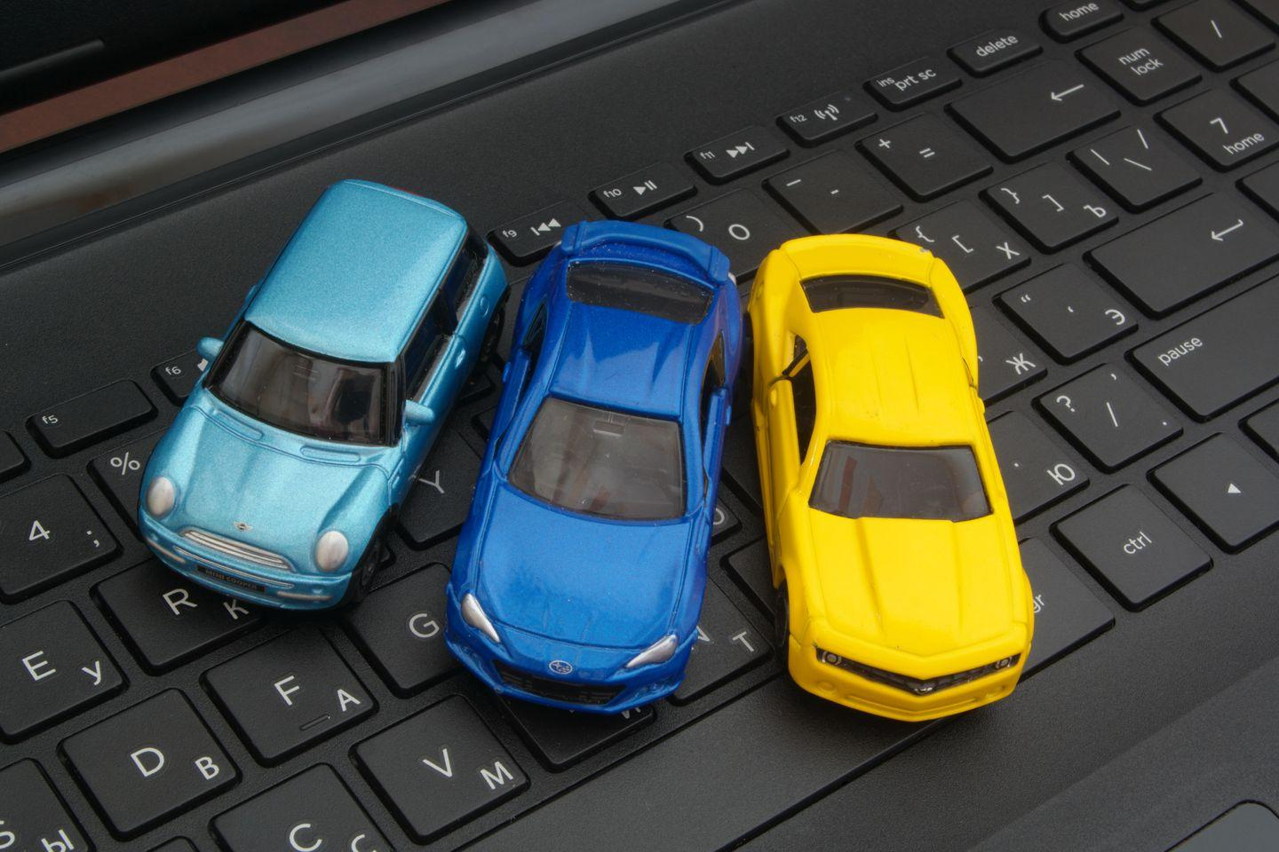 Cars on Keyboard