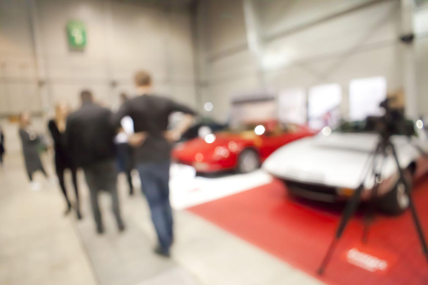 Blurry Car Auction