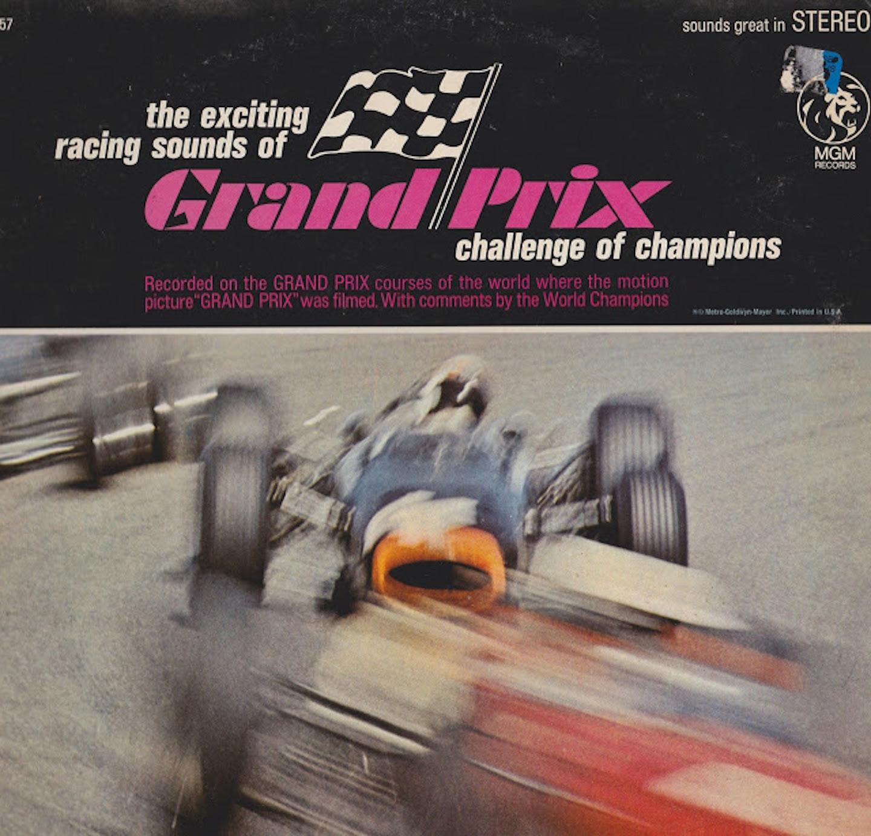 Grand Prix, John Frankenheimer, Gurney-Weslake, BRM H16, BRM V16, Honda V12, Coventry-Climax, Spa Francorchamps, Soundtrack, 1966