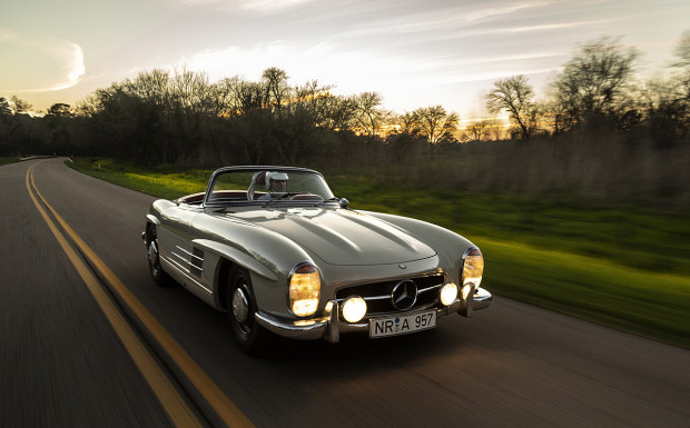 1957 Mercedes-Benz 300SL Roadster Ex-Princess Ashraf Pahlavi