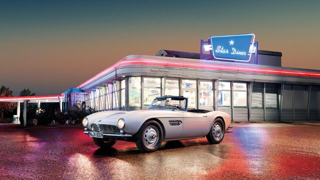 1958 BMW 507 Elvis Restored